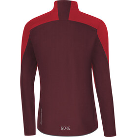 GORE WEAR C5 Windstopper Jakke Herrer, red/chestnut red